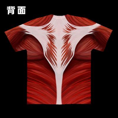 進撃のTシャツ(背面)