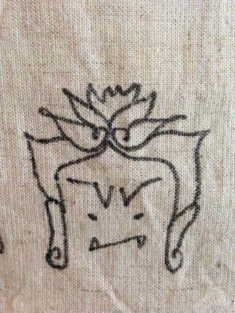 タナカカヨさん鞄仏像