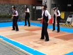 タップダンスのステージ