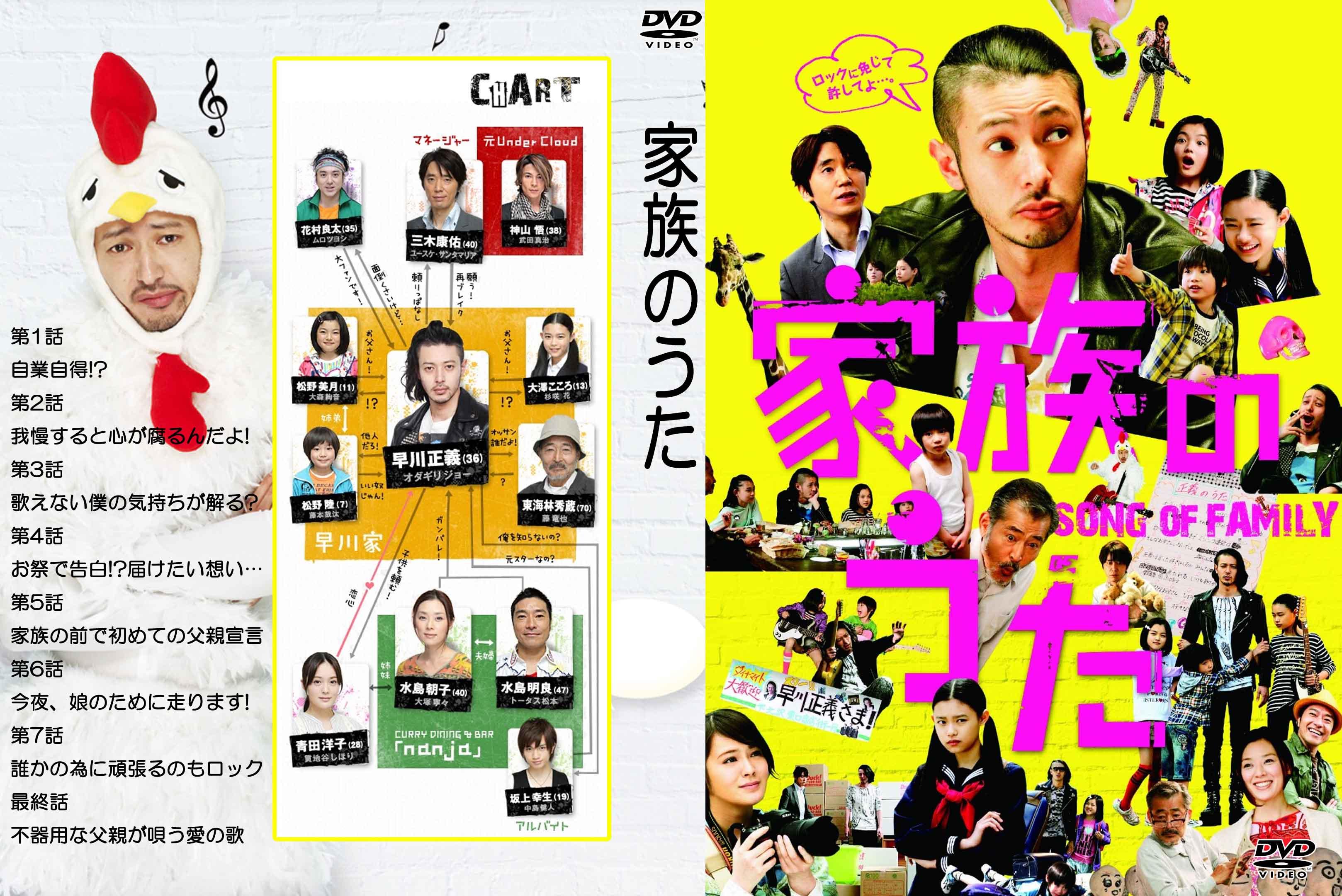 家族のうた DVD-BOX〈5枚組〉 [DVD] - CDJournal