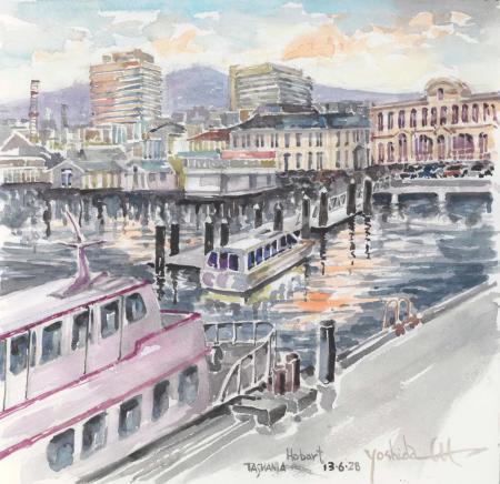 TASMANIA/Hobart港