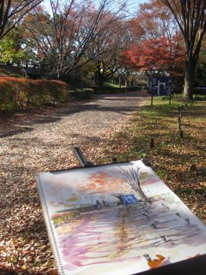 昭和記念公園スケッチ