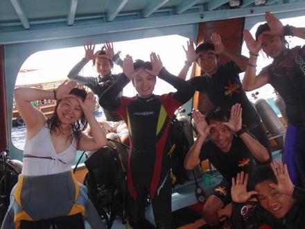 タオ島 ダイビング アドバンス ジンベエ