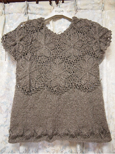 編み上がり