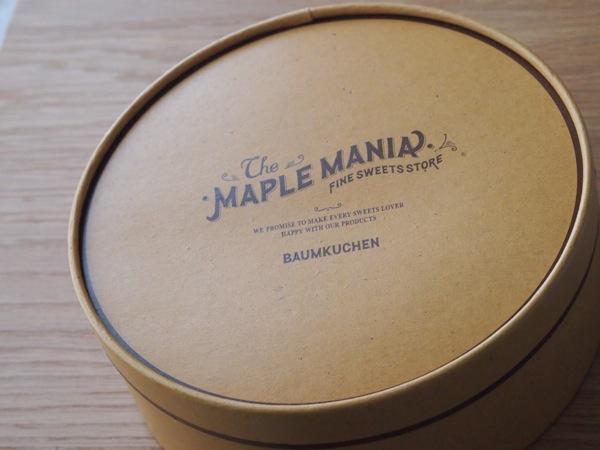 maple mania バームクーヘン2