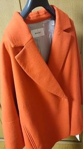 オレンジ コート