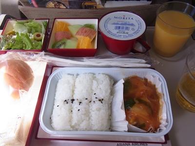 往機内食blog