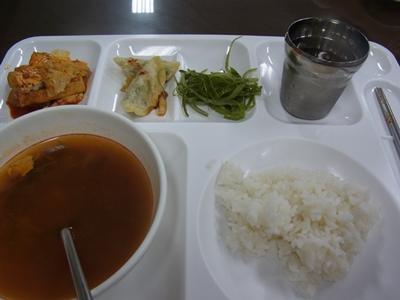 ホールでのお食事blog