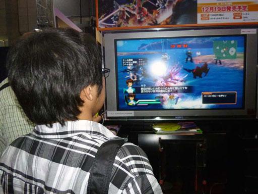 東京0ゲームショウ2013 ガンダム無双 開発者