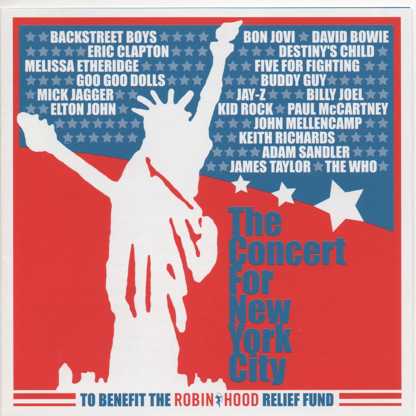 『ザ・コンサート・フォー・ニューヨーク・シティ』