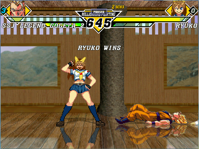 vs竜子1st