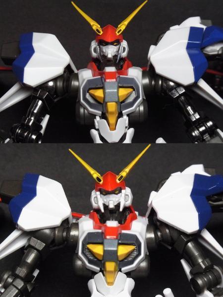ROBOT魂+D-1カスタムアップ比較