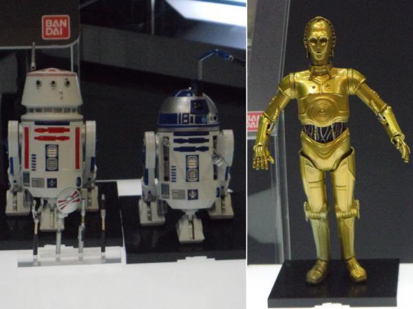第54回ホビーショー+R2-D2+C3-PO