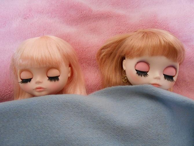 6 夢とサキの寝顔2