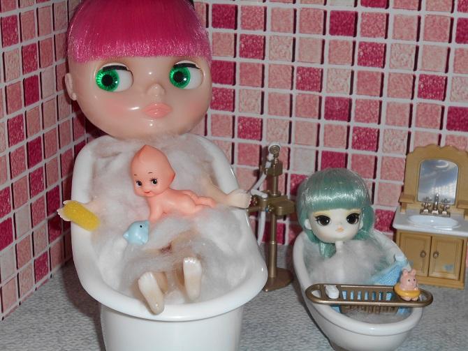 6 3人で入浴
