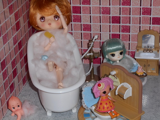7 take a bath Berry