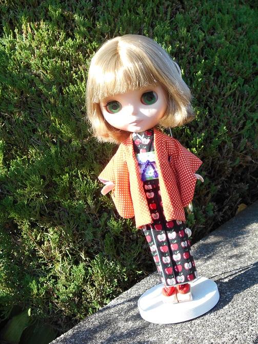 1 kimono outside