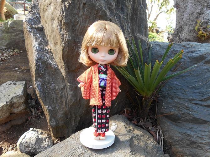 2 kimono outside