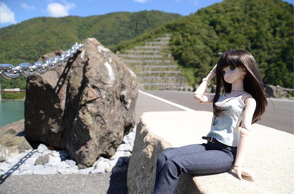 小隠里@徳山ダムへ