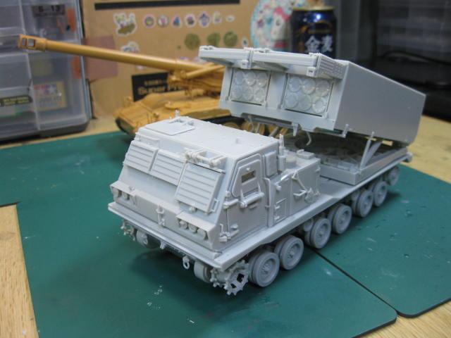 MLRS 陸上自衛隊 組み終わり