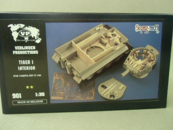 901 Tiger ⅠInterior(for tamiya)¥3600