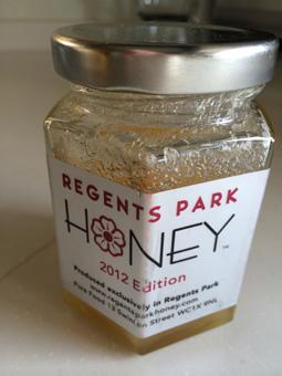 リージェントパークの蜂蜜