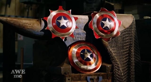 キャプテン・アメリカの盾を海外の鍛冶職人がリアルに再現!!【MAN AT ARMS】
