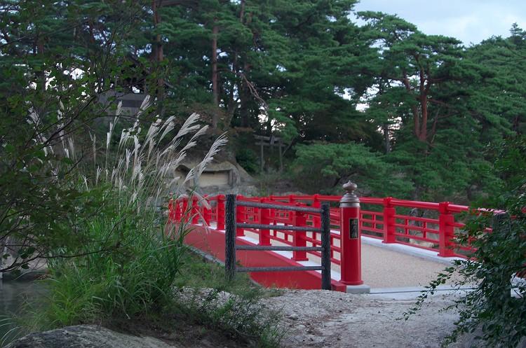 松島の夕暮れ