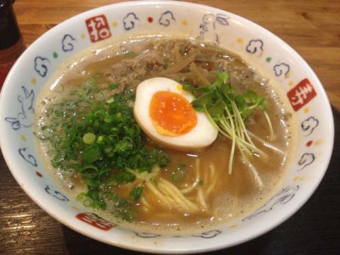 豚骨スープの味噌