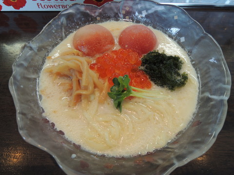 特製豆乳冷しらぁ麺(980円)