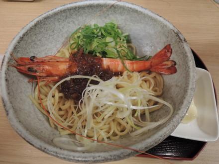 海老味噌油そば(800円)