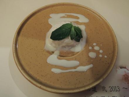 デザート(極豆腐アイス)