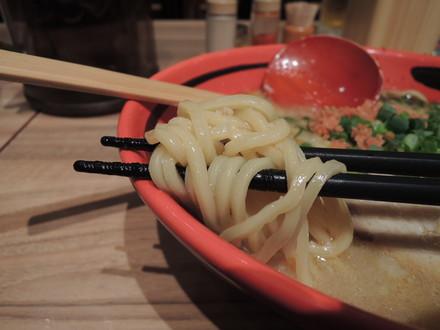 えびしお(そのまま)の麺