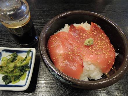 本日のおまかせ丼(まぐろのお造り丼)(300円)