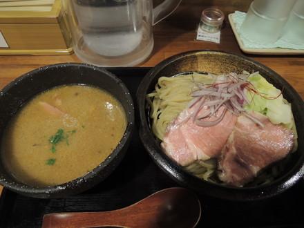 鶏と野菜のつけ麺(300g)(850円)