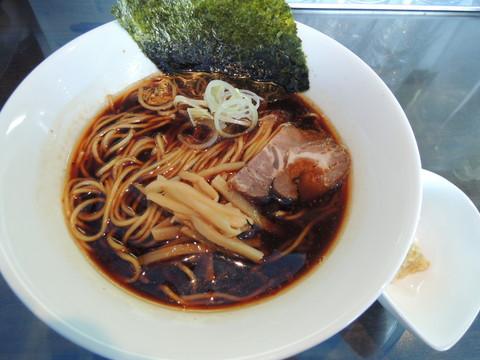 秋刀魚そば(800円)
