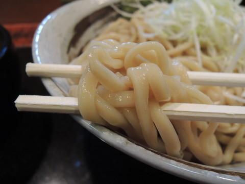 つけ麺 太麺の麺
