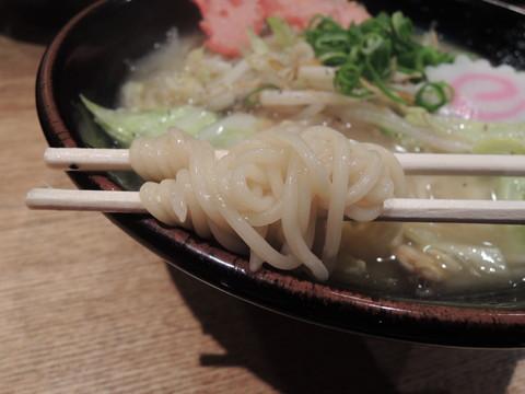 俺のタンメン(大盛り)の麺