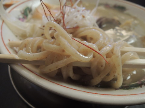 CLAM.CRAB.SHRIMP@俺のMISOの麺