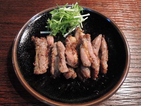 親鳥のせせり 黒胡椒焼き(数量限定)(350円)