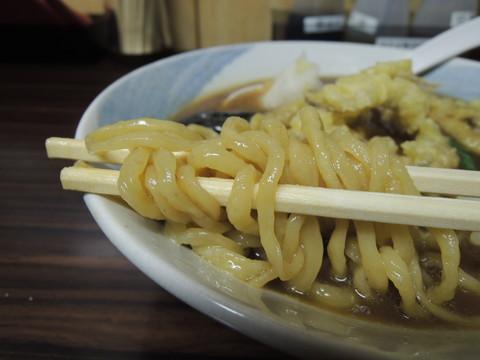 するめの天中華の麺