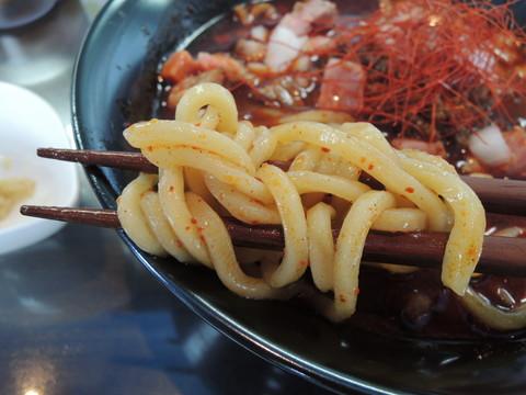 汁有チョモランマの麺