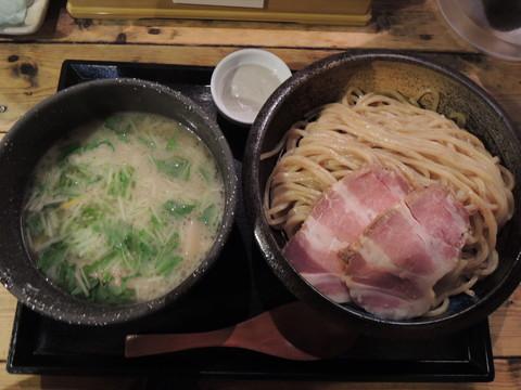 蟹白湯つけめん2.5(250g)(1100円)