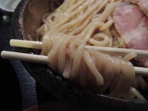 蟹白湯つけめん2.5の麺