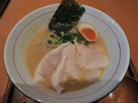 W白湯セブン(中盛)(900円)
