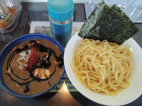 特製つけ麺EBIブラック(大盛)(1250円)