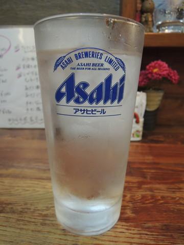 芋焼酎水割り(420円)