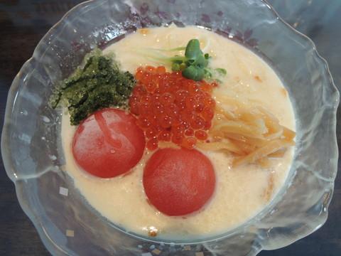 特製豆乳冷しらぁ麺(1100円)