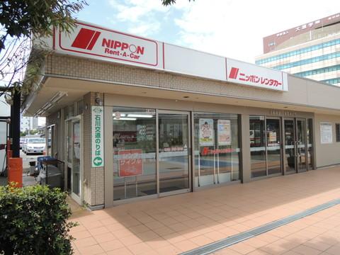 金沢駅西口のレンタカー(レンタサイクル貸出)