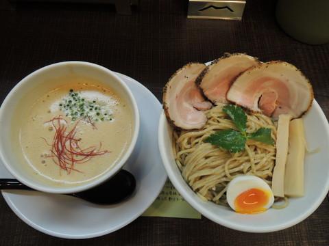 豚CHIKIみそつけ麺(全粒粉麺)2玉(850円)